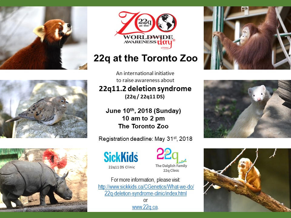 Zoo Day 2018 Poster